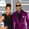 Alicia Keys dan Swizz Beatz di Red Carpet Grammy Awards 2012