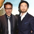 Robert Downey Jr. dan Jude Law di UK Premiere 'Sherlock Holmes: A Game of Shadows'