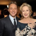 Russell Crowe dan Meryl Streep di AACTA International Awards 2012