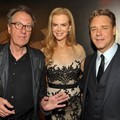 Geoffrey Rush, Nicole Kidman dan Russell Crowe di AACTA International Awards 2012