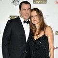 John Travolta dan Kelly Preston di Black Tie Gala