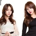 Minah dan Yura Girl's Day di Majalah BNT International Edisi Maret 2014