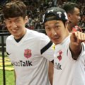 Park Ji-Sung dan Haha Jumpa Pers Asian Dream Cup 2014
