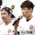 Haha dan Park Ji-Sung di Jumpa Pers Asian Dream Cup 2014