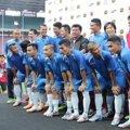 Tim Indonesia All Star di Jumpa Pers Asian Dream Cup 2014