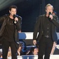 Jim Carrey dan Jeff Daniels di MTV Video Music Awards 2014