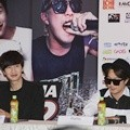 Lee Kwang Soo dan Haha di Press Conference 'Race Start!' Season 2