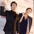 Ryu Seung Soo dan Kim Hee Sun di Red Carpet APAN Star Awards 2014