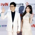Kim Sung Joo dan Soyeon T-ara di Red Carpet APAN Star Awards 2014