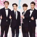 Sehun, Suho, Chen dan Tao EXO di Red Carpet MBC Entertainment Awards 2014