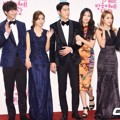 Pasangan 'We Got Married' di Red Carpet MBC Entertainment Awards 2014