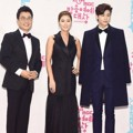 Kim Sung Joo, Kim Sung Ryung dan Hyungsik ZE:A di Red Carpet MBC Entertainment Awards 2014