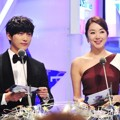 Nam Goong Min dan So Yi Hyun di MBC Entertainment Awards 2014