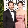 Jake dan Maggie Gyllenhaal di Red Carpet Golden Globe Awards 2015