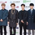 Beast di Red Carpet Seoul Music Awards 2015