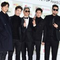 g.o.d di Red Carpet Gaon Chart K-Pop Awards 2015