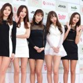 EXID di Red Carpet Gaon Chart K-Pop Awards 2015
