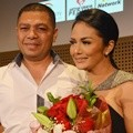 Raul Lemos dan Krisdayanti di Press Conference Konser 'Traya'
