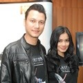 Christian Sugiono dan Titi Kamal di Press Conference Dubbing 'Transformers: Age of Extinction'
