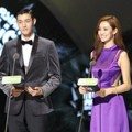 Lee Ki Woo dan Stephanie Lee di MAMA 2015