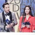 Lee Soo Hyuk dan Lee Yu Bi di MBC Drama Awards 2015