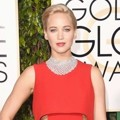 Jennifer Lawrence di Red Carpet Golden Globes Awards 2016