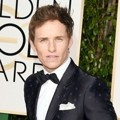 Eddie Redmayne di Red Carpet Golden Globes Awards 2016
