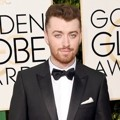 Sam Smith di Red Carpet Golden Globes Awards 2016