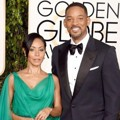 Jada Pinkett Smith dan Will Smith di Red Carpet Golden Globes Awards 2016