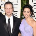Matt Damon di Red Carpet Golden Globes Awards 2016