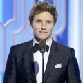 Eddie Redmayne di Golden Globe Awards 2016
