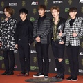 Beast di Red Carpet Golden Disc Awards 2016