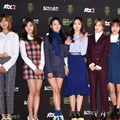 A Pink di Red Carpet Golden Disc Awards 2016