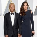 Pharrell Williams Datang Bersama Helen Lasichanh di Oscar 201