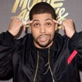 O'Shea Jackson Jr. di Red Carpet MTV Movie Awards 2016