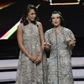 Adinia Wirasti dan Dian Sastro Bacakan Nominasi Film Terfavorit Indonesia Movie Actors Awards 2016