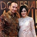 Gary Iskak dan Richa Novisha di Indonesia Movie Actors Awards 2016