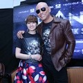 Chika Jessica dan Deddy Corbuzier di Launching Novel 'Triangle The Dark Side'