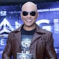Deddy Corbuzier di Launching Novel 'Triangle The Dark Side'