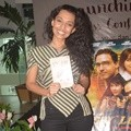 Shafira Umm di Launching Teaser, Buku, Poster Film 'Spy in Love'