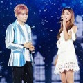 Duet Ryeowook Super Junior dan Luna f(x) Nyanyikan Lagu 'Beauty and the Beast'