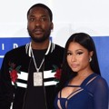 Meek Mill dan Nicki Minaj di Red Carpet MTV Video Music Awards 2016