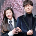 Jun Ji Hyun dan Lee Min Ho di Jumpa Pers Drama 'Legend of the Blue Sea'