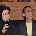 Melly Goeslaw dan Anto Hoed di Jumpa Pers Film 'Promise'