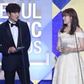Ji Chang Wook dan Nam Ji Hyun di Seoul Music Awards 2017