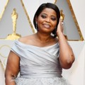 Octavia Spencer di Red Carpet Oscar 2017