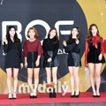 Grup rookie Momoland di red carpet Busan One Festival 2017.