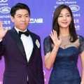 Yang Se Chan dan Seol In Ah di Red Carpet Seoul Awards 2017