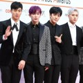 Monsta X di Red Carpet Asia Artist Awards 2017