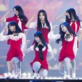 G-Friend Saat Nyanyikan Lagu 'Love Whisper' di MelOn Music Awards 2017